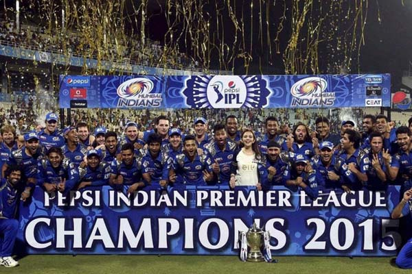 IPL 2015 Season 8 Winner Team Mumbai Indians with Complete Match Information