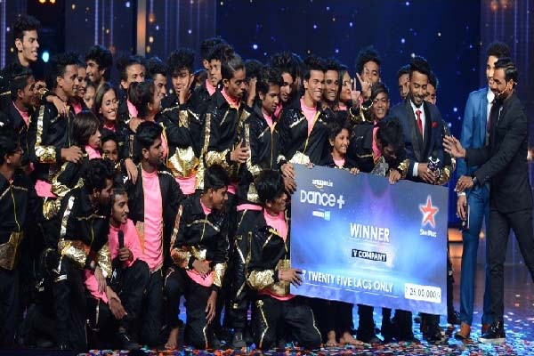 Dance Plus Season 1 Winner V Company Image
