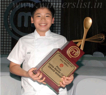 Junior MasterChef Philippines Season 1 Winner Kyle Imao 2012, Junior MasterChef Philippines Season 1 Winner Kyle Imao 2012 image, Junior MasterChef Philippines Season 1 Winner Kyle Imao 2012 photo