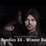 MTV Roadies X4 2016 Season 13 Winner Balraj Singh Image & Finale Video
