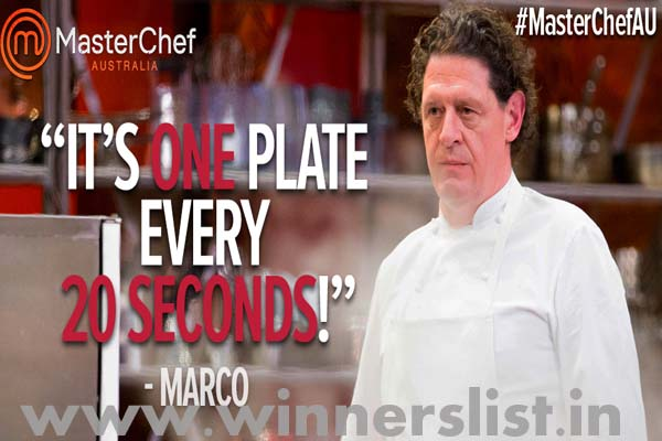 Marco Pierre White masterchef australia the professional season 1