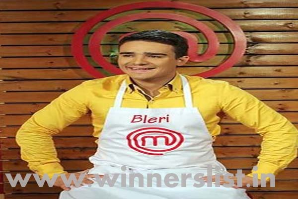 MasterChef Albania Season 2 Winner Blair Dervishi 2015