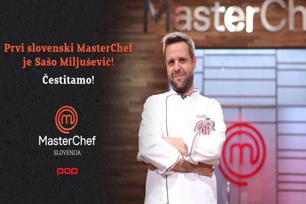MasterChef Slovenia Season 1 Winner Sašo 2015