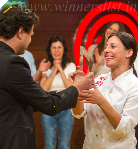 MasterChef Spain Season 2 Winner Vicky 2014, MasterChef Spain Season 2 Winner Vicky 2014 image