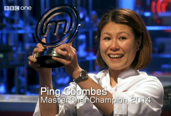 MasterChef UK 2014 Winner Ping Coombes
