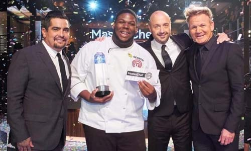 MasterChef USA Season 9 winner Gerron Hurt