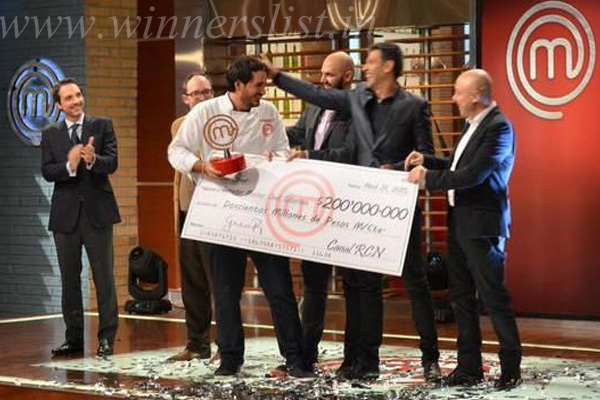 Masterchef Colombia Season 1 Winner Federico Martinez 2015, Masterchef Colombia Season 1 Winner Federico Martinez 2015 image, Masterchef Colombia Season 1 Winner Federico Martinez 2015 photo