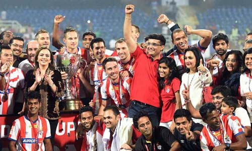 Indian Super League (ISL) Season 1 Winner - Atlético de Kolkata (2014)