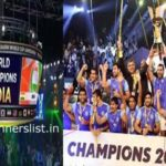 Kabaddi World Cup Winners List