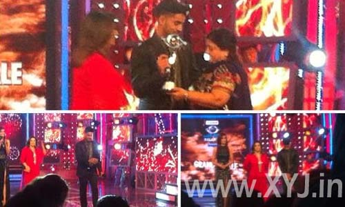 Gautam-Gualti-with-BB8-trophy-and-his-mother