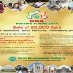 DDA Flats Lucky Draw Result Winners List for Housing Scheme 2014