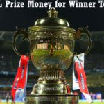 IPL 2016 Winner & Runner Up Team Prize Money
