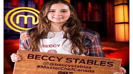 MasterChef Canada Season 5 Winner Beccy Stables